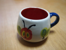 ウチのアイルトンさん-まゆぽんのマグカップ