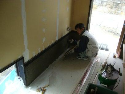 カフェの様に落ち着く・癒される部屋にリフォームして暮らす♪珪藻土・漆喰で 塗り壁施工。-漆喰塗り替え・羽曳野9
