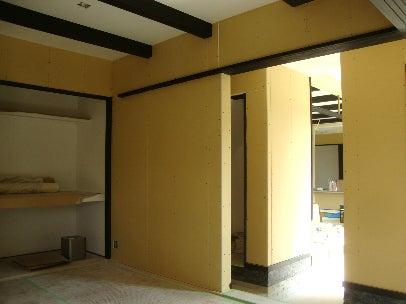 カフェの様に落ち着く・癒される部屋にリフォームして暮らす♪珪藻土・漆喰で 塗り壁施工。-漆喰塗り替え・羽曳野10