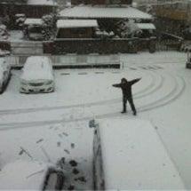 さいたま市初雪!