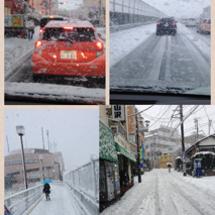 大雪(泣)