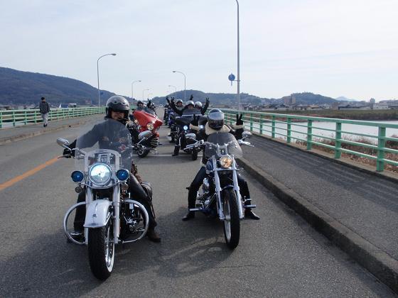 Shinとハーレー仲間-20130106-7