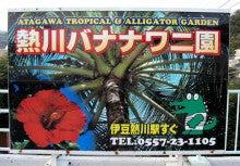 中年ジャイブ-バナナワニ園看板