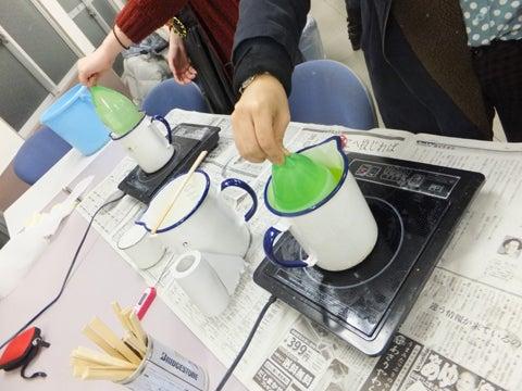 Kuri Candle-水風船でランタン制作