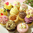 可愛い~♪クリーム満載の★アメリカンカップケーキ★12コセット♪
