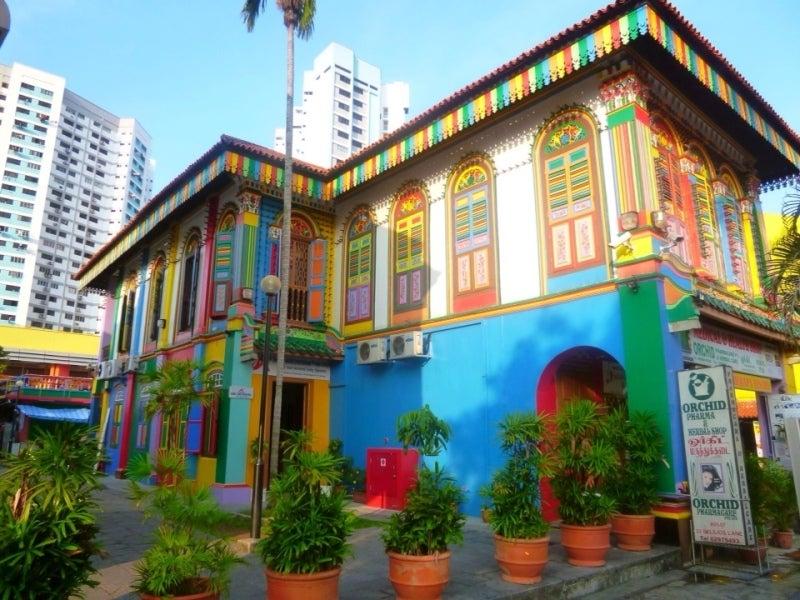 シンガポールで見つけたオシャレな建物!