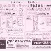 「売却依頼を受けている不動産」 3物件を新聞折り込みチラシの画像