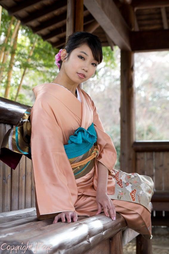 みんなで集おう 写真ブログ木川田ステラさん 川口グリーンセンター 着物モデル撮影会 東京写真連盟(その3)