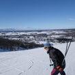 恒例のスキー