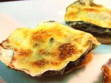 食べて飲んで観て読んだコト+レストラン・カザマ-牡蠣のグラタン