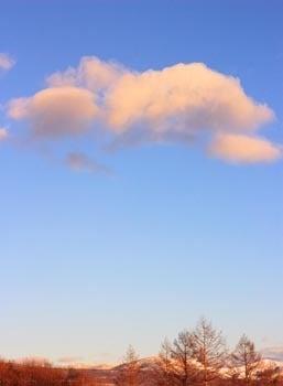 ◆コンサルタント藤村正宏のエクスマブログ◆-朝焼けの雲
