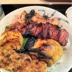 葵美術と銀座散歩-焼き鳥丼