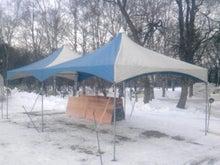 北の大地でゼンチ工房-氷まつり2