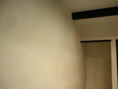 カフェの様に落ち着く・癒される部屋にリフォームして暮らす♪珪藻土・漆喰で 塗り壁施工。-内壁・漆喰11