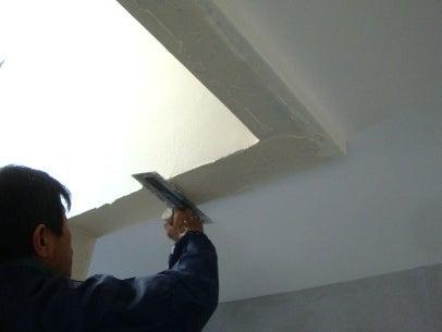 カフェの様に落ち着く・癒される部屋にリフォームして暮らす♪珪藻土・漆喰で 塗り壁施工。-内壁・漆喰6