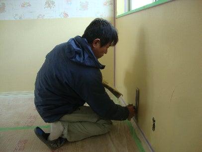 カフェの様に落ち着く・癒される部屋にリフォームして暮らす♪珪藻土・漆喰で 塗り壁施工。-内壁・漆喰10