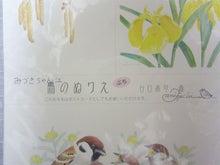 絵日記ブログ・姫うずらまみれ-野鳥ぬりえ