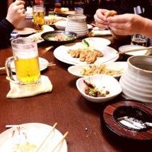名古屋の夜。