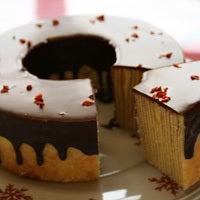 香川・高松のケーキ屋さんラ・ファミーユのスィーツ日記-チョココーティングバウムS