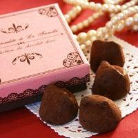 香川・高松のケーキ屋さんラ・ファミーユのスィーツ日記-生チョコトリュフ