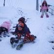 雪遊び三昧