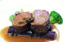 食べて飲んで観て読んだコト+レストラン・カザマ-エゾ鹿のロースト