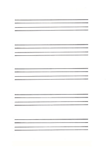 Lacy Calligraphy : ガイドシート作り方