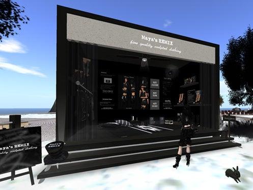 Maya's style / Second Life Fashion-ミニショップ