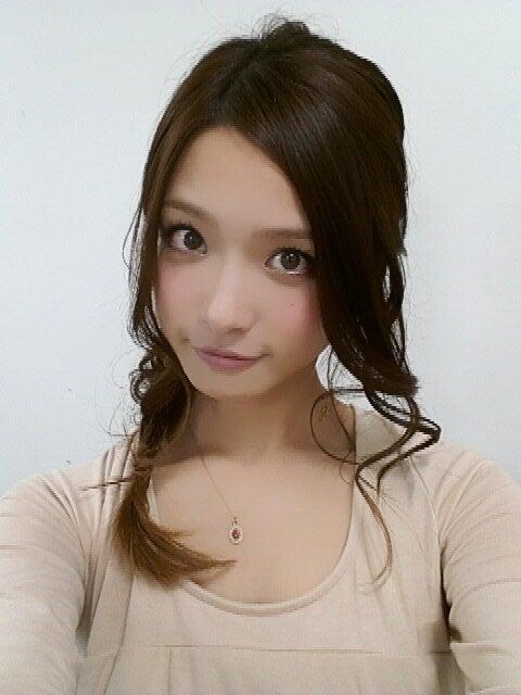 上田眞央の自撮り画像