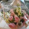おばあちゃんへの花束の画像