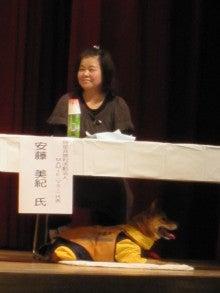 聴導犬レオン&安藤美紀(NPO法人MAMIE代表者)-1