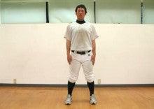 ゴルフツアープロコーチ・野球トレーナー摩季れい子-側屈バランステスト1