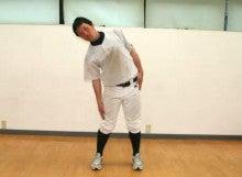 ゴルフツアープロコーチ・野球トレーナー摩季れい子-側屈バランステスト2