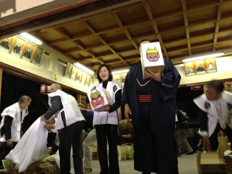 マイホーム探しの便利帳-富松神社豆まき