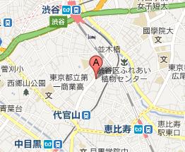 $渋谷・代官山 エブリシング-map0201