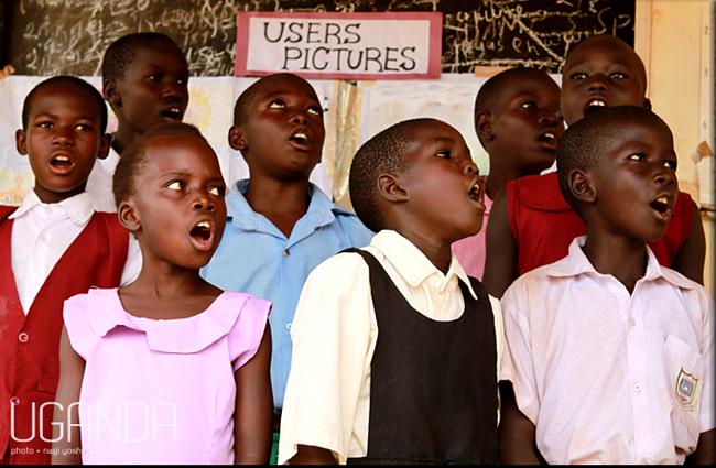 nagi yoshida - 自由奔放な女の写真放浪記 --ウガンダの子供たちの練習風景