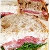 生ハムサンドイッチの画像