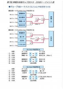 神栖市矢田部サッカー場ブログ-神栖矢田部カップ2013 最終結果