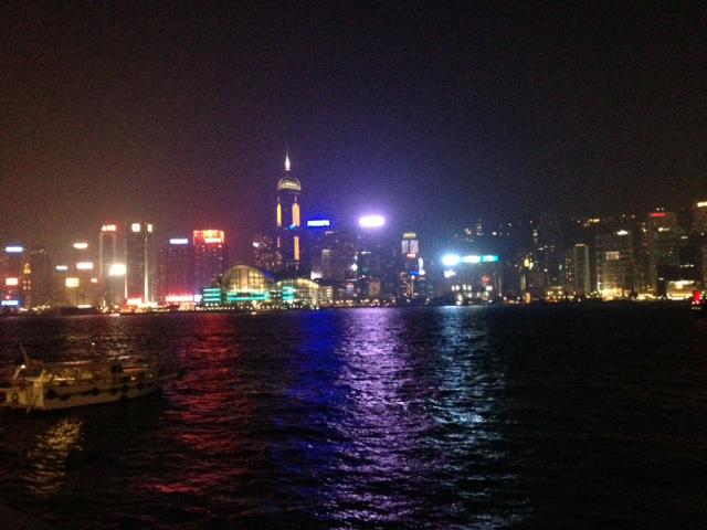 osamuのキャラクターブログ-香港夜景