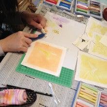 ●大人の色遊び●なごみパステルアート・カラーセラピースクール-image