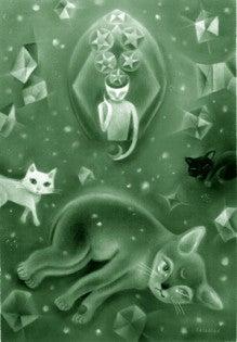$ ◆ cinemazoo-灰色の猫