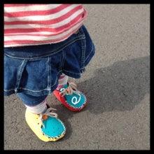$ベビーファーストシューズ『monica rubber』ソフトシューズ *baby first shoes*-image