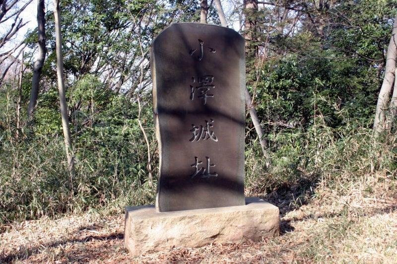 小沢城 城址碑