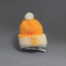 モルモットのニット帽(オレンジ)