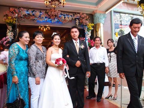 ベトナム(ホーチミン)の旅行について-ベトナムの結婚式