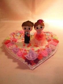 $Handmade glove  puppet          フェルトで指人形-ウェルカムドール・ドレス赤