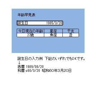 昭和 60 年 年齢