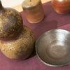 """■『土』と『炎』の芸術""""備前焼"""" 紫峰窯の加藤光治さん作陶展に行って来た!瓢箪徳利、杯、麦芽杯。の画像"""