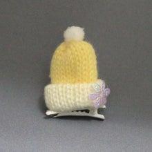 モルモットのニット帽(イエロー)