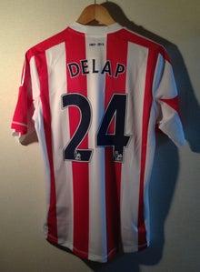Stoke Cityストークシティロリー デラップ Delap 24 ユニフォーム